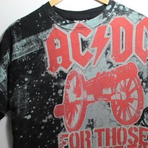MENS AC⚡DC GRAPHIC-T   Size M
